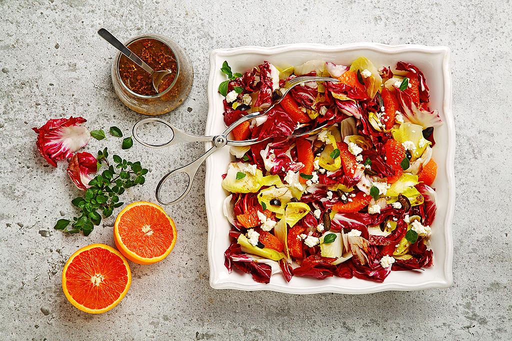 Radicchio, Endive and Citrus Salad