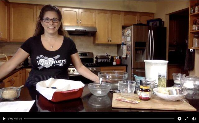 Virtual Bake-Along with Emily Richards!