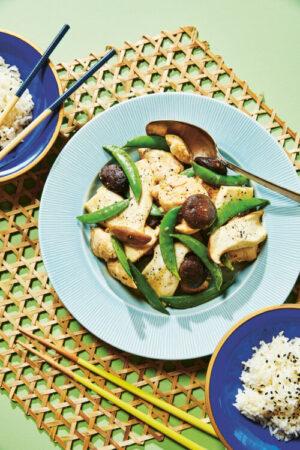 Chicken and Mushroom Stir-Fry (Moo Goo Gai Pan)